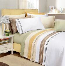 Egyptian Cotton 800 Thread Count Embroidered Sheet Set