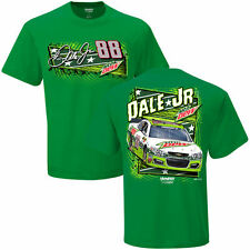 2016 DALE EARNHARDT JR #88 MOUNTAIN DEW ALL-STAR GREEN NASCAR TEE SHIRT