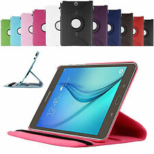 360 Rotating Smart Case Cover For Samsung Galaxy Tab S2 8.0 T710 T715 +Protector