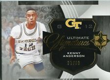 2013-14 UD Ultimate Signatures Kenny Anderson #US-KA Booklet Auto #'d37/60