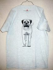 BULLMASTIFF Coming&Going Short-sleeved Hanes T-shirt / Adult Unisex Size LARGE