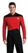 NEW Star Trek The Next Generation Large Deluxe Shirt Costume By Rubie's