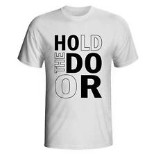 Hold The Door HODOR Game of Thrones Hodor T-shirt George R R Martin New Tee