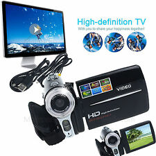 Mini LCD 16/20MP 8/16X Digital Video Camera Camcorder HD 1080P DV DVR Zoom+Cable