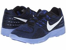 NIKE LUNARTEMPO 2 BLUE BLACK CHALK WHITE WOMENS 2016 RUNNING SHOES  **ALL SIZES