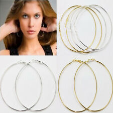 Hot 20Pcs Jewelry Circle Basketball Wives Hoop Earring 20,30,40,50,60,70,80,90MM
