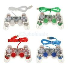 USB 2.0 Dual Vibration Shock Wired Gamepad Controller Joystick for PC Laptop