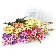 1 Bunch Artificial Fake Daisy Flower Bouquet Home Wedding Party Table Decoration