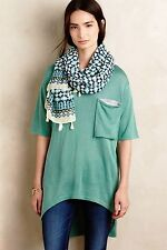NWT Anthropologie Longline Pocket Tunic Long Tee Top Sz XS, S $118
