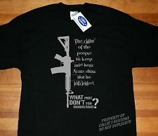 Pro 2nd Second Amendment Gun Rights high capacity magazine T-shirt AR-15 Rifle