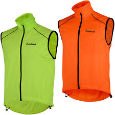Didoo Mens Cycling Gilet Lightweight Wind Resistant Breathable Jacket Packable