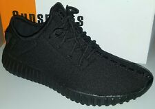 Sunsports James Casual Sneaker Black Mens Shoe Yeezy Style (bkjame)