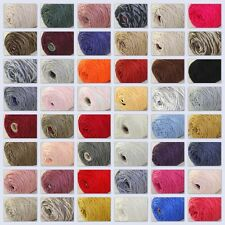 Sale New 1 Cone x 400gr Soft Cotton Chunky Super Bulky Shawls Hand Knitting Yarn