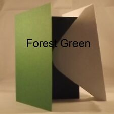 Forest A6/C6 Quality 240gsm Card Blanks select pack size 1st class FREE Postage