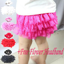 Baby Diaper Cover Newborn Shorts Toddler Girls Lace Tutu Skirts Pants Bottoms