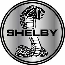 Cobra Shelby Ford Mustang GT Vinyl Sticker Decal