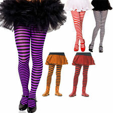 Childs Striped Tights Assorted Colors