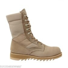 Desert Tan Ripple Sole Jungle Boots - Rothco 5058