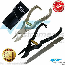Professional Heavy Duty Toe Nail Clippers Chiropody Podiatry Stainless Steel Fil
