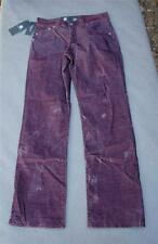NWT $88 Rock & Republic Neil Straight Bruised Red Corduroy Pants  Various Sizes