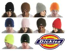 """DICKIES beanie HAT 9"""" Knit Cap NEW one size fits all UNISEX authentic ski hat"""