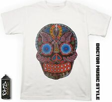 T-shirt Rock with Skull style Tattoo T-shirt with printing personalized 4
