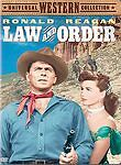 LAW AND ORDER DVD (1953) Ronald Reagan Western