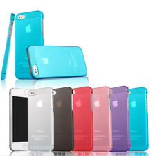 ULTRA THIN 0.3mm CRYSTAL HARD FLEXI CASE COVER SKIN FOR NEW APPLE iPHONE 5S & 5