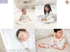ADEN + ANAIS CLASSIC COTTON MUSLIN SLEEPING BAG WEARABLE BLANKET BOTTOM ZIPPER