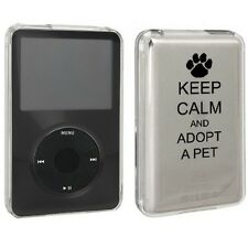 For Apple iPod Classic Hard Case Cover 80gb 120gb 160gb Keep Calm Adopt A Pet