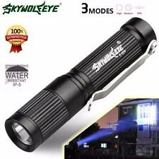 4000LM 3Mode CREE XM-L Q5 Zoomable LED Flashlight Torch Light Super Bright White