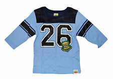 Harajuku Mini Boys Football Long Sleeve Blue