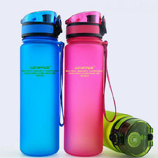 BPA Free Tritan Water Bottles 500ML Portable Space Cup Leak-proof Sports bottle
