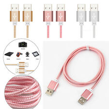 1M Nylon USB 2.0 Type A Male to USB 2.0 Male Cord Adapter Data Extension Cable