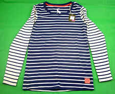 Joules Blue Striped Q_GINA Long Sleeved Striped Top Sizes 8 16 BNWT 15% OFF RRP