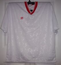 WHITE & RED Soccer Jerseys Stampa jersey FieldSheer - Upper V