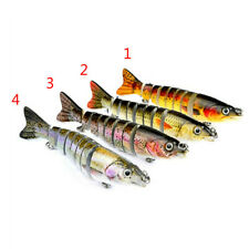 8-Jointed Multi Sections Saltwater Fishing Lures Swimbait Minnow Sinking Bait