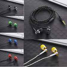 3.5mm Noise Isolating Bass Headset Noise Isolating Earphone for phone MP3 MP4 US