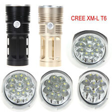 28000LM 3 Modes 11x CREE XM-L T6 LED Hunting Flashlight 4 x 18650 Torch Lamp