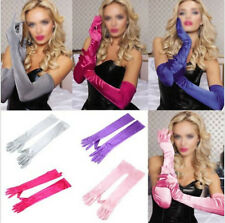 Opera Wedding Gloves Hot Long Gloves Evening Party Bridal Prom Satin Costume