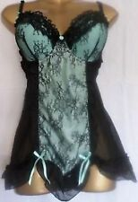 BEAUTIFUL 2 PIECE BABY DOLL & THONG SET SIZE'S 32AA-32A-34A-34B-34C-34D-36C