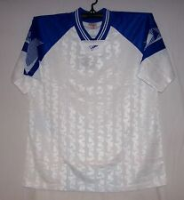 White & Royal  Interroma Soccer jersey jerseys Youth Large Small Medium Large XL