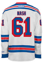Rick Nash New York Rangers NHL Away Reebok Premier Hockey Jersey
