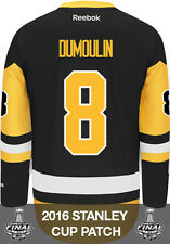Brian Dumoulin Pittsburgh Penguins Stanley Cup Patch Reebok Third NHL Jersey