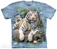 The Mountain - White Tigers of Bengal T-Shirt