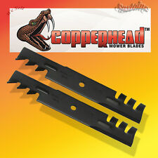 "Copperhead Heavy Duty Commercial Multch Blades 2 Blades 36"" Cut Mower .240 thic"