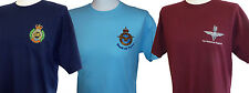 British Military T-Shirts - Embroidered UK Regiments, Corps, RAF & Royal Marines