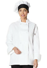 3-PACK Dickies Traditional Chef Hat White w/ Black Brim DC591 WTBK FREE SHIP!