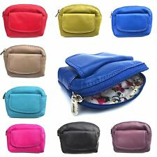 Golunski Super Soft LEATHER Coin Purse in Stunning Colours Key Ring 333