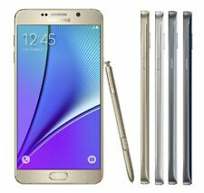 Samsung Galaxy Note 5 Black, White and More 32GB 64GB SM-N920A AT&T Refurbished